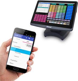Uniwell Phoenix integrated handheld ordering